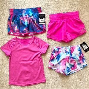 Bundle of girls athletic wear size  4/5
